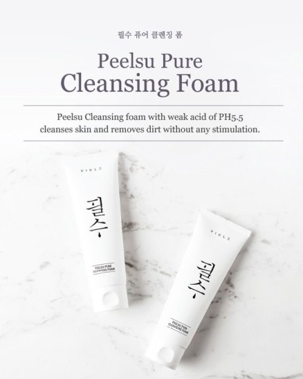 Vicle Peelsu Pure Cleansing Foam1
